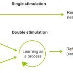 Double stimulation experiments